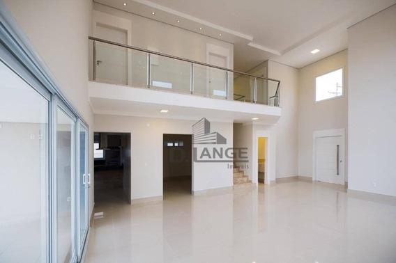 Casa Nova No Condomínio Parque Dos Alecrins!! - Ca12744