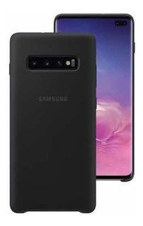 Forro Protector Silicon Case Galaxy S10 Plus Original