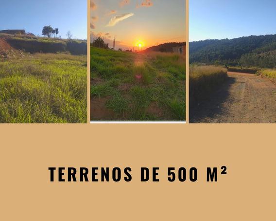 Terrenos De 500 M² Com Uma Ótima Área Para Construir