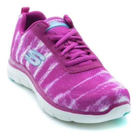 Oferta Tenis Skechers Dama Original Memory Foam T 23.5