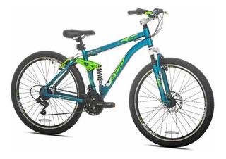 Bicicleta #26 Aluminio Accesorios Shimano 21 Velocidades