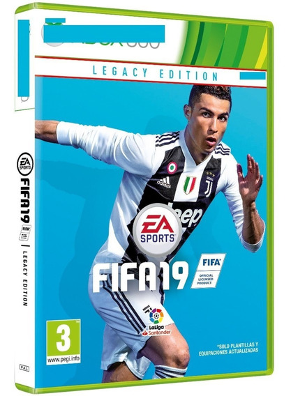 Fifa 19 Latino Dvd Fisico Rgh Lt 3.0 Fisico Xdg3 Leer Descr