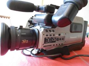 Filmadora Panasonic Ag-456 Repórter C/ Maleta E Acessórios !