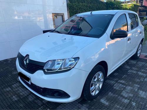 Renault Sandero 2016 1.0 16v Authentique Plus Hi-flex 5p