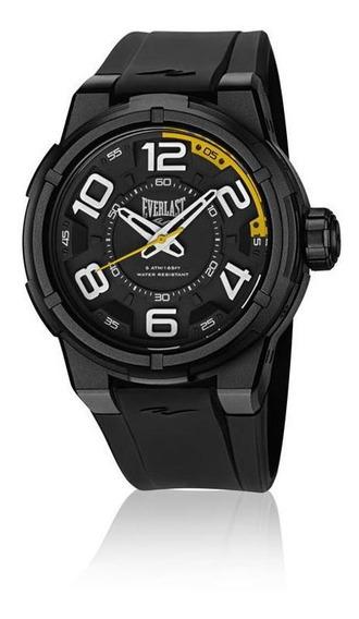 Relógio De Pulso Everlast Masculino Caixa Abs E686