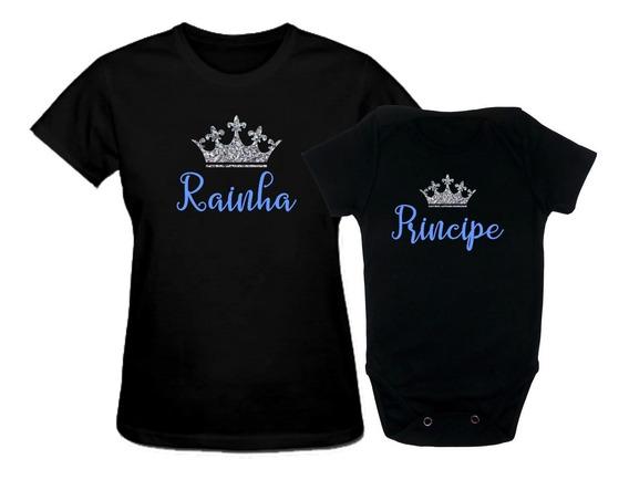 Kit Tal Mae Tal Filha Filho Coroa Rainha Principe Princesa