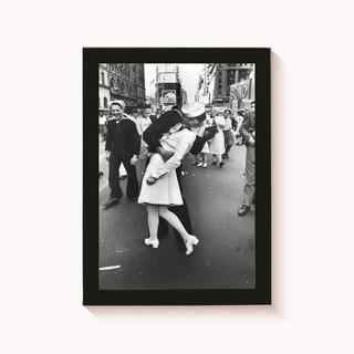 Quadro O Beijo Fotografia Decoração Poster 30x20cm