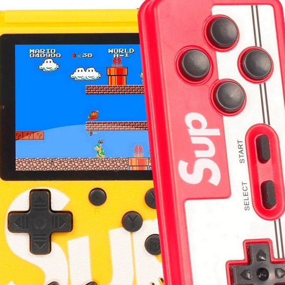 Nintendo Retro Mini Game + Teclado Portátil Com 400 Jogos