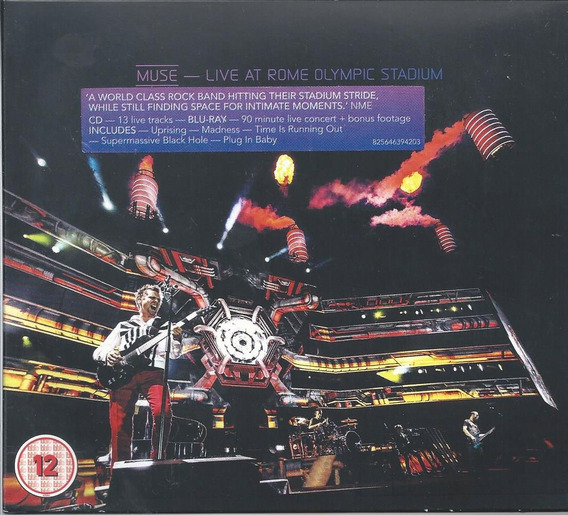 Muse Live At Rome Olympics Stadium Cd + Blu-ray Importado