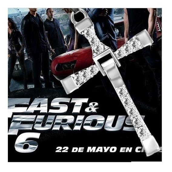 Colar Corrente Cor Ouro Prata Cruz Velozes Furiosos Toretto