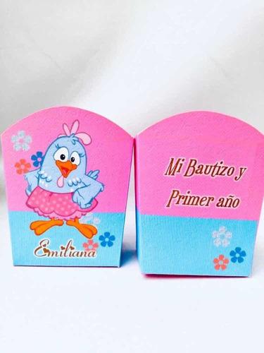 Caja Para Crispetas Fiestas Infantiles Personalizadas