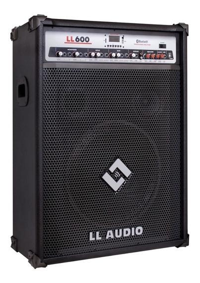 Caixa Amplificada Multiuso Ll 600 Bt Usb Bluetooth 200 Watts