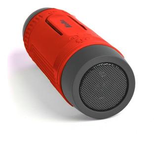 Parlante Kop-016 Rojo Bluetooth Kolke Gfx