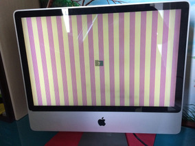 iMac 24 2007 - Mod. A1225 - Defeito - Leia