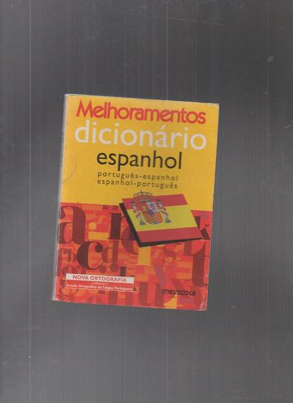 Livro Dicionário Melhoramentos Espanhol-português-espanhol
