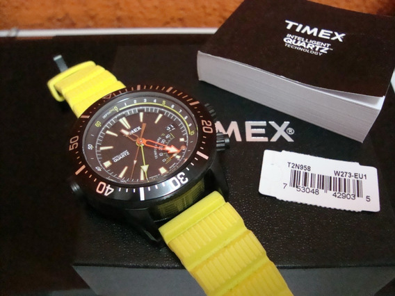 Relógio Timex T2n958 Intelligent Adventure Serie Yellow