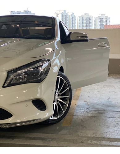 Mercedes-benz Classe Cla 2017 1.6 Vision Turbo Flex 4p