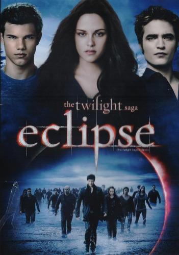 Eclipse Saga Crepusculo Robert Pattinson Pelicula Dvd