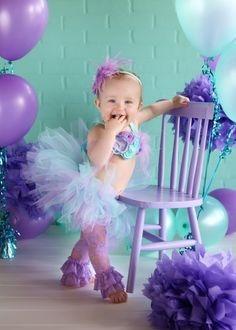 02 Saia Tutu Tule Bebe Aniversario Festa Ensaio Fotogr