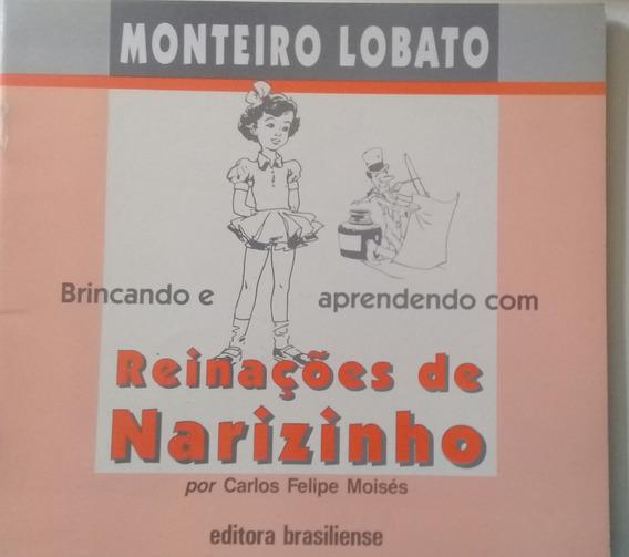 Brincando E Aprendendo Com Reinações De Narizinho + Do Prof