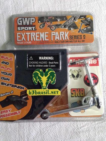 Bx501 Mini Patinete Prata Gwp Sport Extreme Park 10 Cm H3br