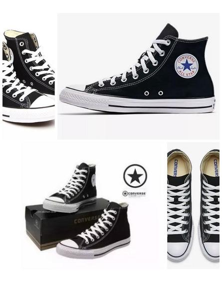 Converse Bota Negro Originales