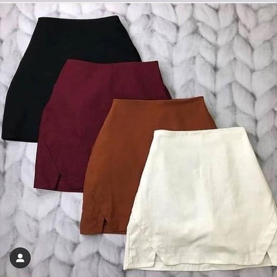 Shorts Saia De Bengaline