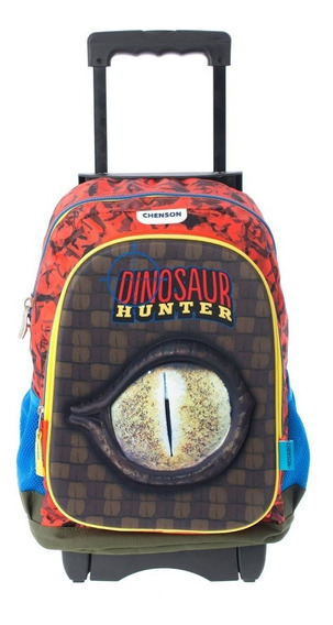 Mochilas Escolar Carrito Ruedas Chenson Niño Dinosaur 62650c