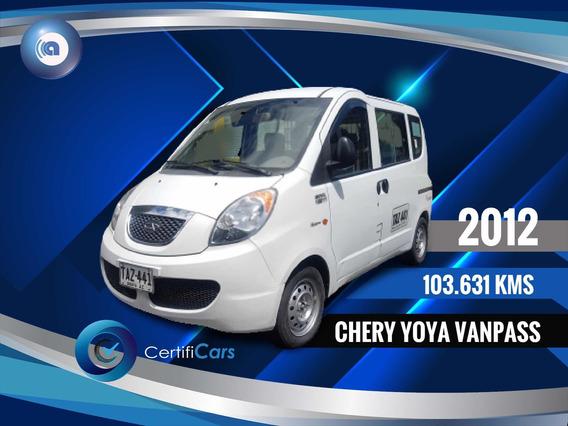 Chery Yoya 2012 1.3 Van Pass Www.financiacars.com