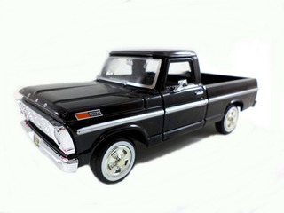 Miniatura Pickup Ford F-100 1969 1/24 Metal