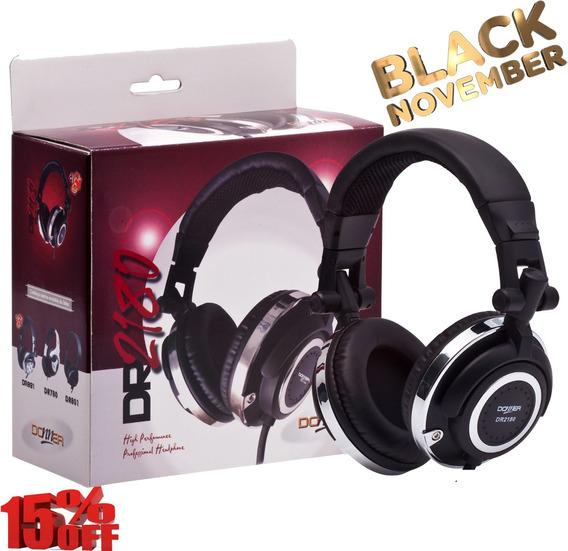 Headphone Fone Ouvido Profissional Dj Donner Dr2180 Nca