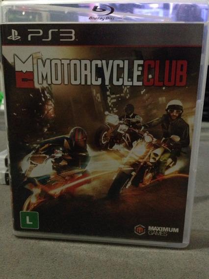 Motorcycle Club Ps3 Midia Fisica Usado