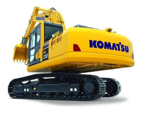 Escavadeira Komatsu Pc 210 2020