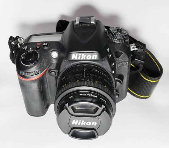 Kit:câmera Nikon D7100/3 Objetivas/flash Nikon Sb-910/outros