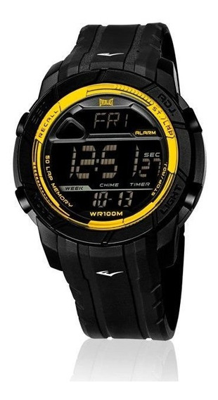 Relógio Everlast Action E702 Digital, Caixa Abs E Pulseira P