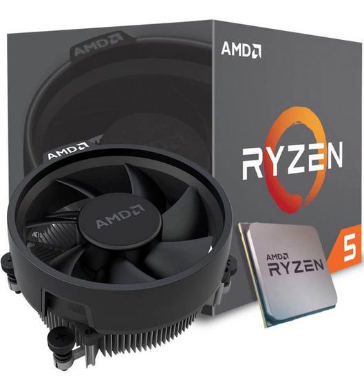 Processador Amd Ryzen 5 2600 Yd2600bbafbox Cache 19mb