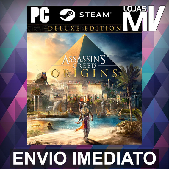 Assassins Creed Origins Deluxe - Pc Steam Gift Presente