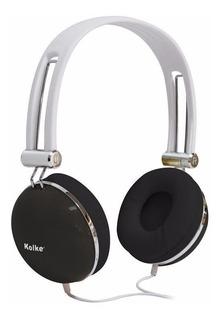 Auriculares Con Micrófono Kolke Ka-105 Negro Htg