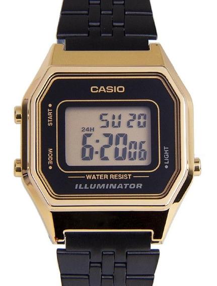 Relógio Casio Vintage Dourado Ref: 5.661