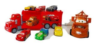 Trailer Cars Mack + Matte+ 7 Carritos