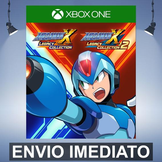 Mega Man X Legacy Collection 1+2 - Xbox One Código