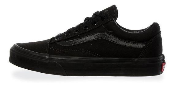 Tenis Vans Old Skool - 0d3hbka - Negro - Unisex