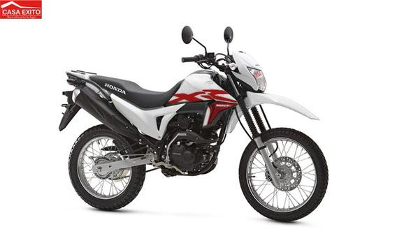 Moto Honda Xr190 L 190cc Año 2020 Color Rojo Negro Blanco