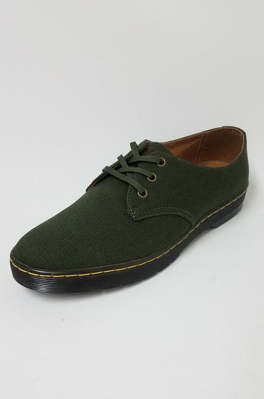 Zapato Casual Zapatilla Dr Martens Verde Hombre Original