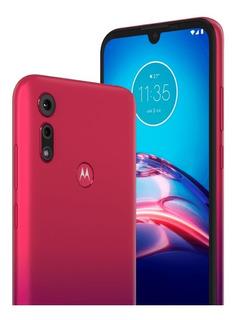 Motorola E6s 32gb 2gb Ram Rojo Garantía 6 Cuotas! Almagro!