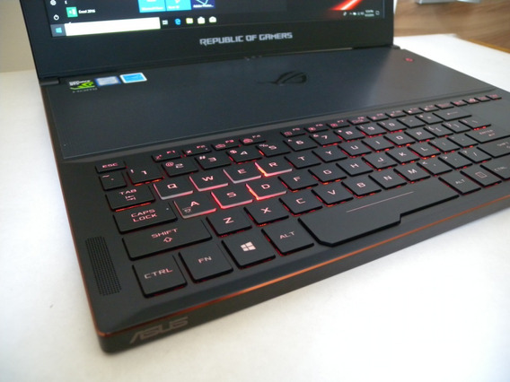 Gamer Notebook Asus Rog Zephyrus I7 16gb 512ssd Gtx1080 8gb