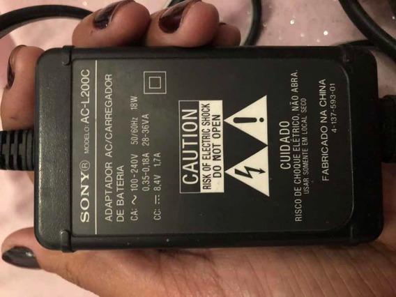 Carregador Sony Ac-l200c