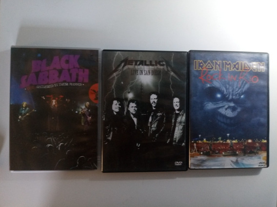 3x Dvds Metal