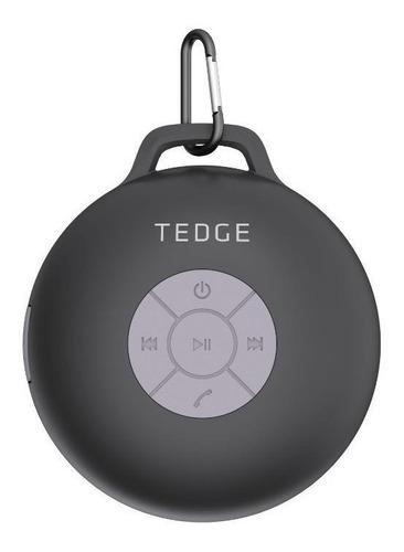 Imagen 1 de 3 de Bocina Tedge portátil con bluetooth CS3WTEDGE negra