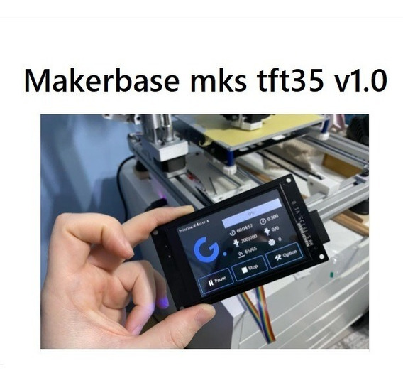 Display Lcd Makerbase Mks Tft35 V1.0 Touch Wi Fi Tela 3d